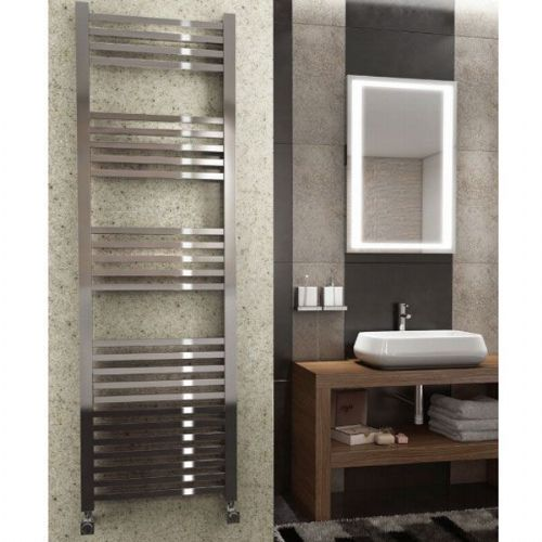 Kartell K Squared Straight Towel Rail - 500mm x 1600mm - Chrome